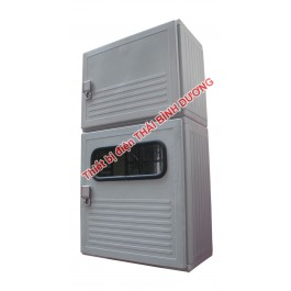 Modull MCCB lắp trên Modull  02 ĐK Composite Indoor 460W 860H 260D Ép Nóng SMC