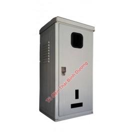 Vỏ tủ Bảo Vệ Điện Kế + CB Composite Outdoor 460W-920H-410D Ép Nóng SMC