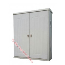 Vỏ tủ PP Trạm Compositer Outdoor 1150W-1400H-400D Ép Nóng SMC