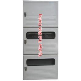 Modul MCCB ghép với 2 modul 3 điện kế Composite - SMC