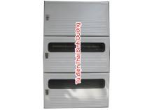 Modul MCCB ghép với 2 modul 4 điện kế Composite - SMC