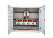 Vỏ tủ PP Trạm Composite Outdoor 1150W-1100H-400D - Đã đấu nối lắp đặt thiết bị